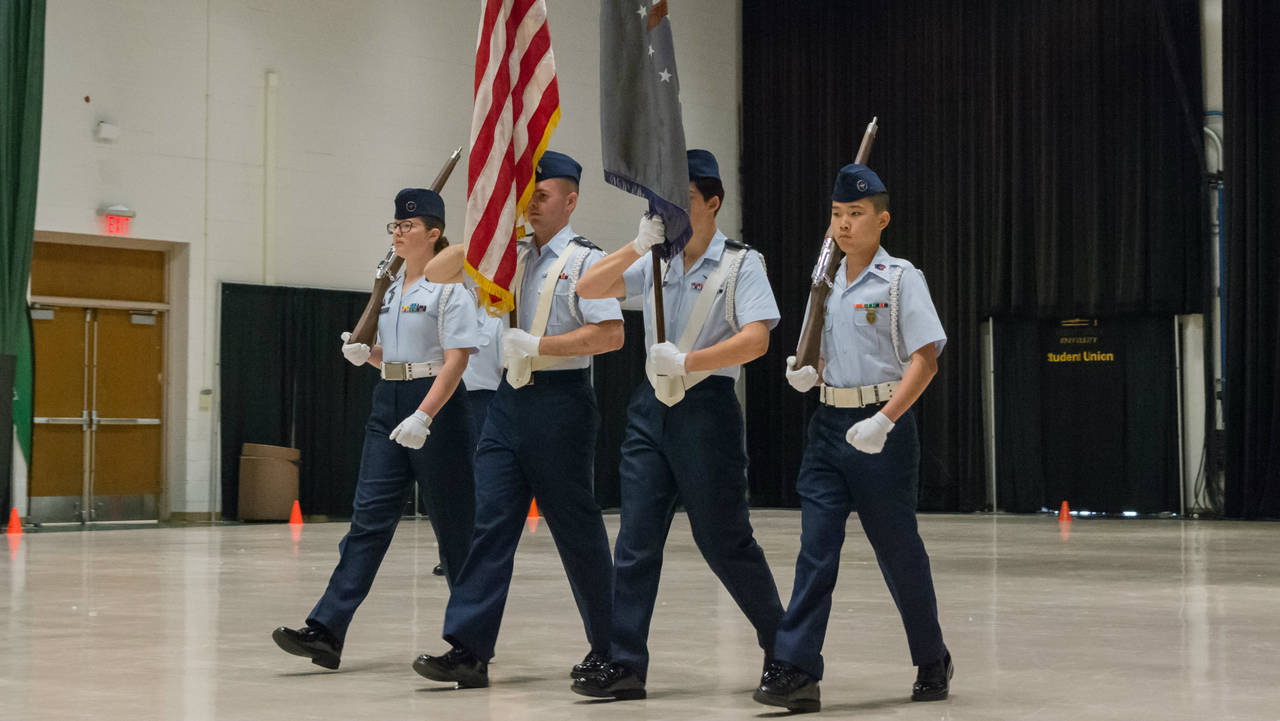 Indoor Drill National Cadet Competition