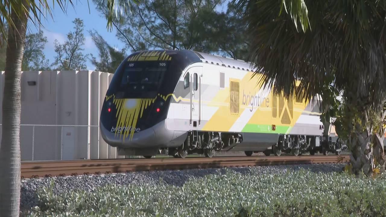 brightline train after fort laud crash