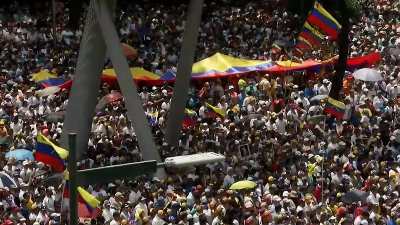 Monday March 4 rally in Caracas