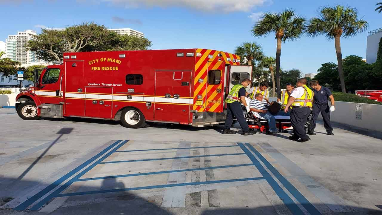 Passenger treated after Wellmax Medical Centers van hits wall