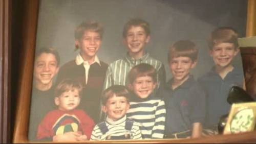 Houston family with 10 sons featured in pope video