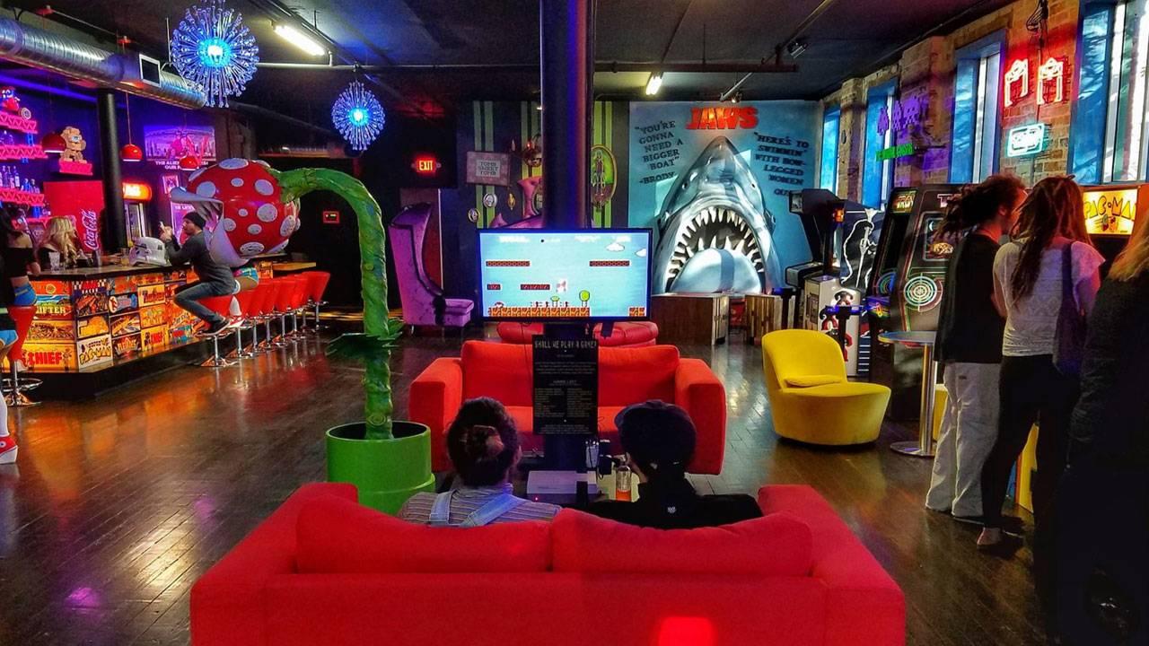 Joysticks Arcade Lounge