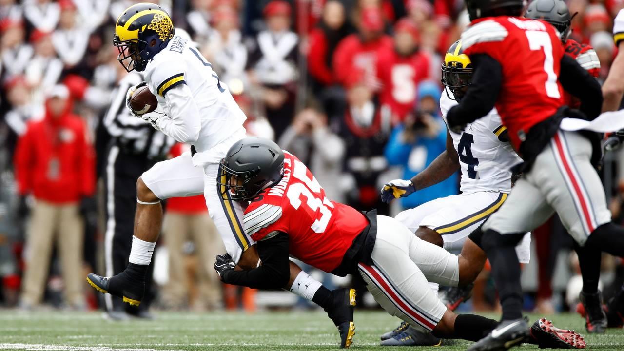 Kekoa Crawford Michigan football vs Ohio State 2016