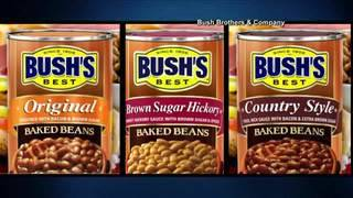 Bush's baked beans recalled for defective seam on cans