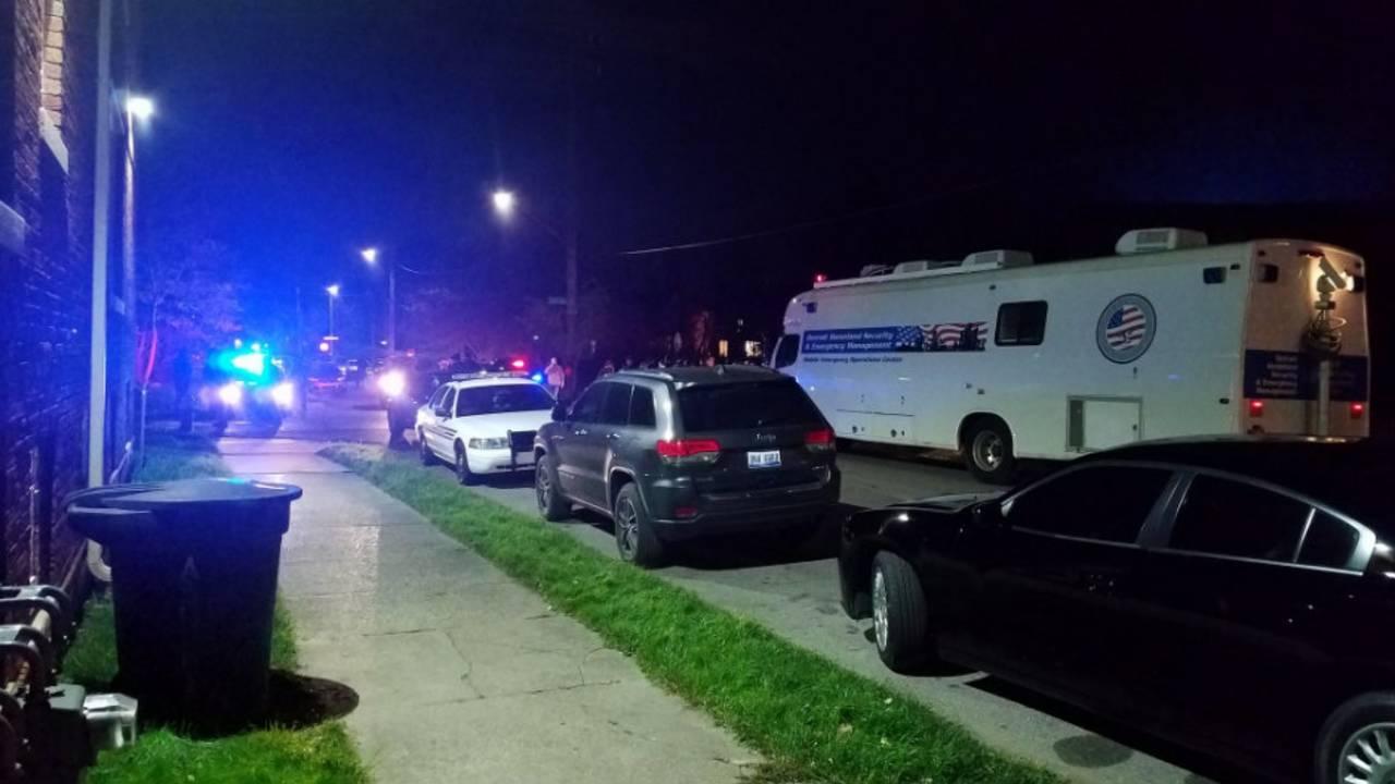 WSU officer shot in head scene