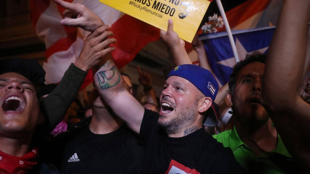 Residente celebrates in Puerto Rico