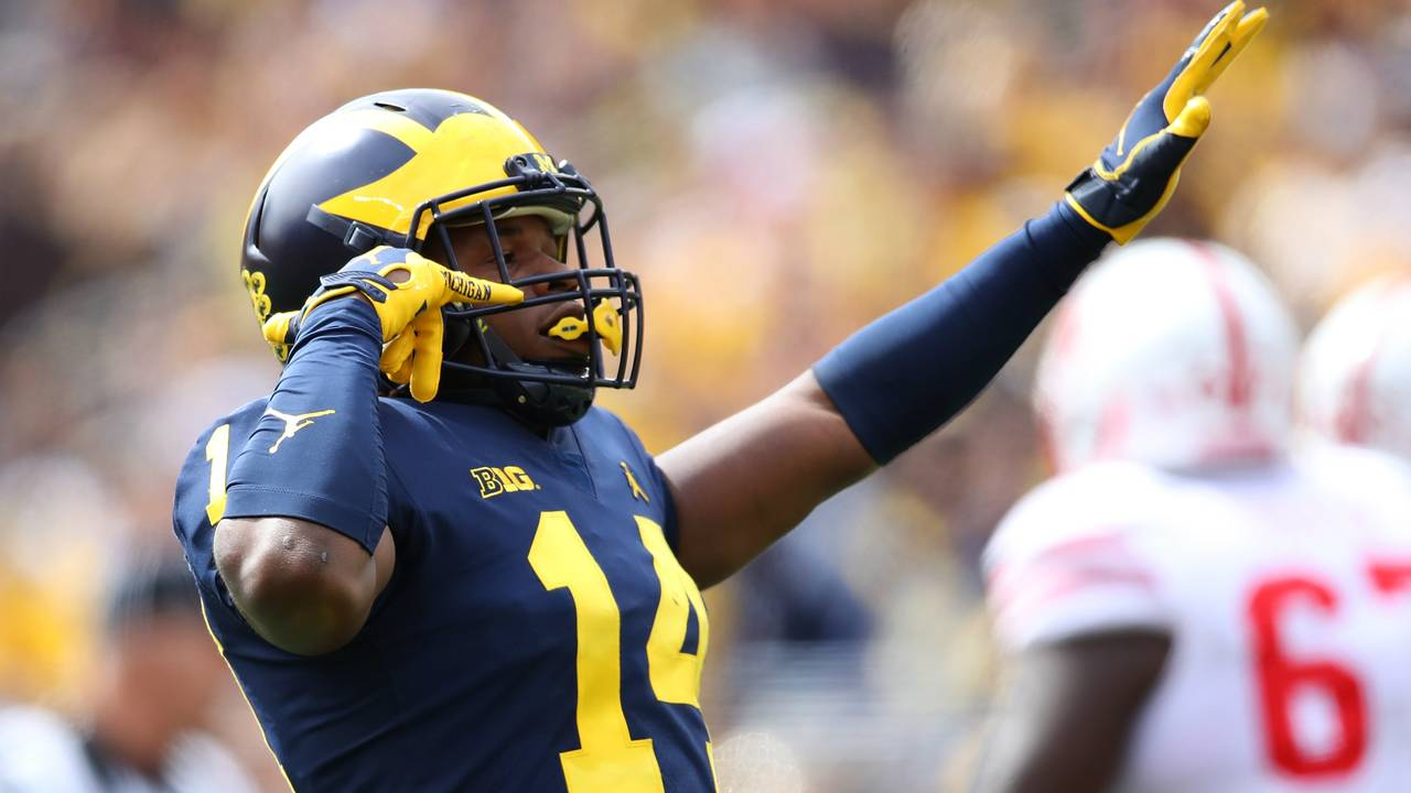 Josh Metellus Michigan football vs Nebraska 2018