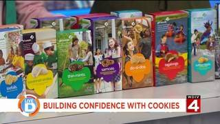 How you can build confidence with Girl Scout cookies