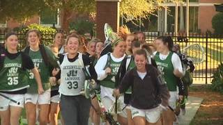 JU Women's lacrosse all-stars on and off the field