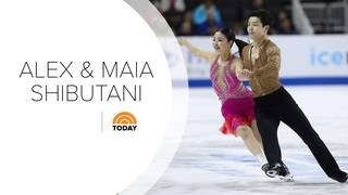 Next on TODAY: Metro Detroit Olympic ice dancer siblings Alex & Maia&hellip&#x3b;