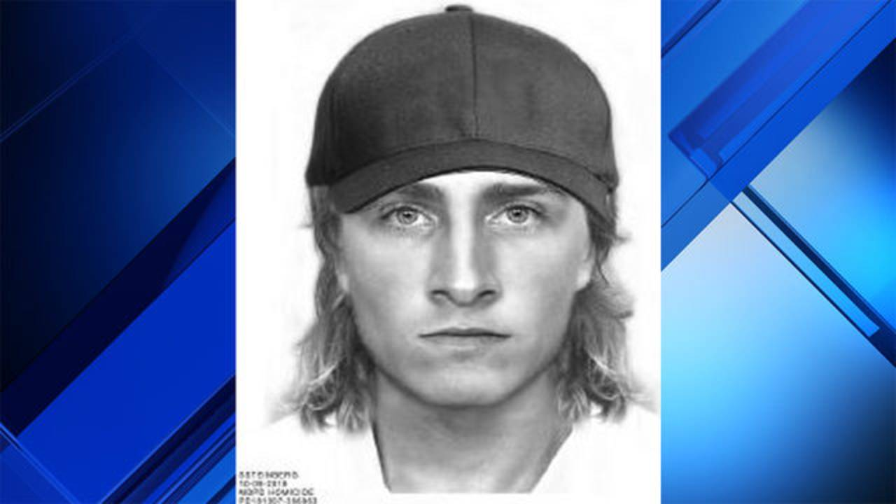 Sketch of man wanted for questioning in UM student killing