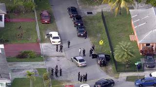 2 in custody after woman carjacked in Miami