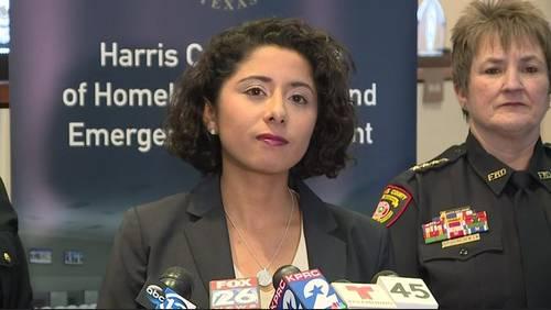 Harris County Judge-elect Lina Hidalgo prepares to take office