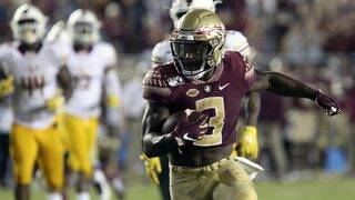 Florida State, RB Akers seek to end No. 2 Clemson's streak