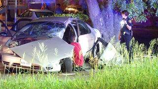 Pair extracted from vehicle after Southeast Side crash, police say