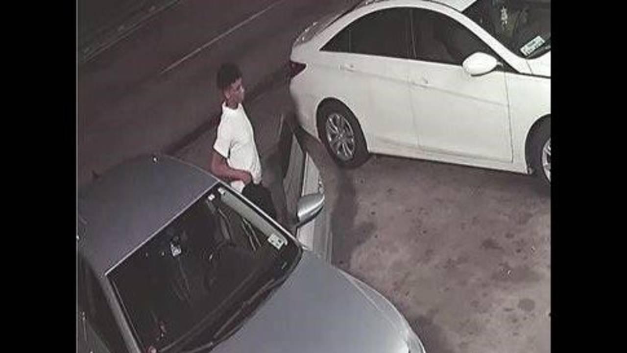 Scott Street shooting surveillance 1