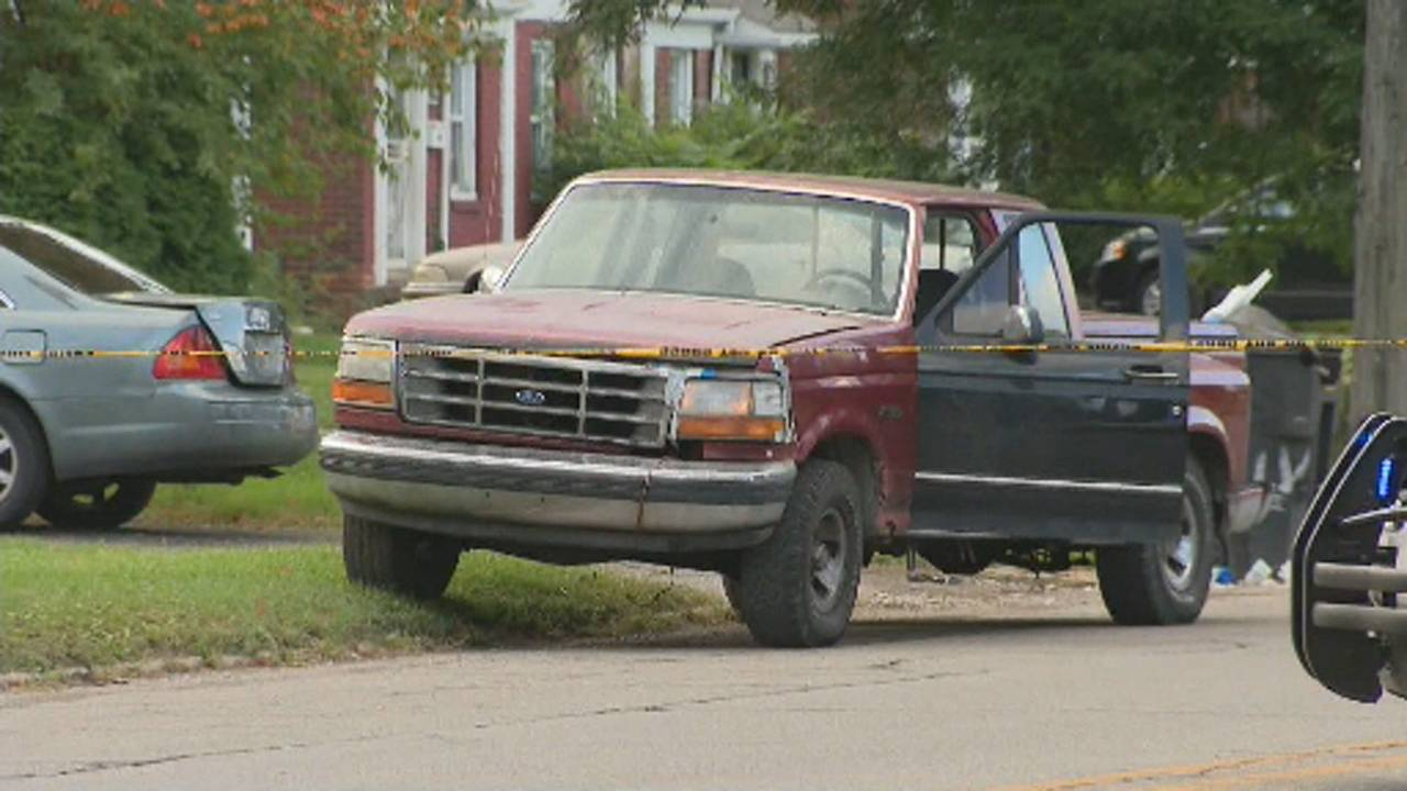 9-year-old boy and mother hit by truck Detroit pickup truck