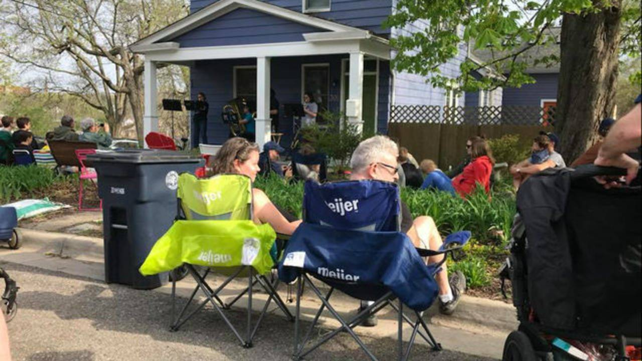 Water Hill Music Festival 2018 chairs
