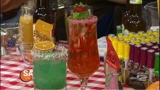 Recipe: Twang-a-Rita Nectarberry- Strawberry Mint Refresher