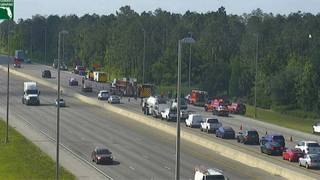 Calcium chloride spill shuts down lanes of Florida's Turnpike