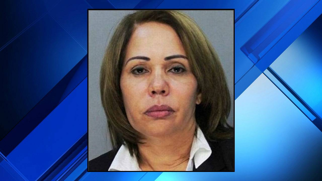 Fior Pichardo de Veloz, 55, is suing staff at a Florida jail after she was  booked into an all-male holding cell. (Miami-Dade Corrections)