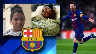 FC Barcelona sends signed jersey to hero Parkland student
