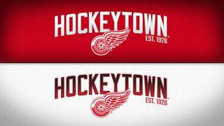 Detroit Red Wings debut refreshed 'Hockeytown' logo
