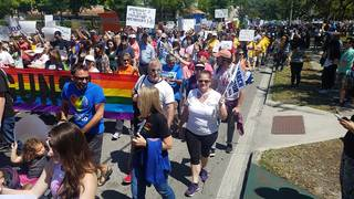 PHOTOS: More than 25,000 attend Orlando 'March for Our Lives' rally