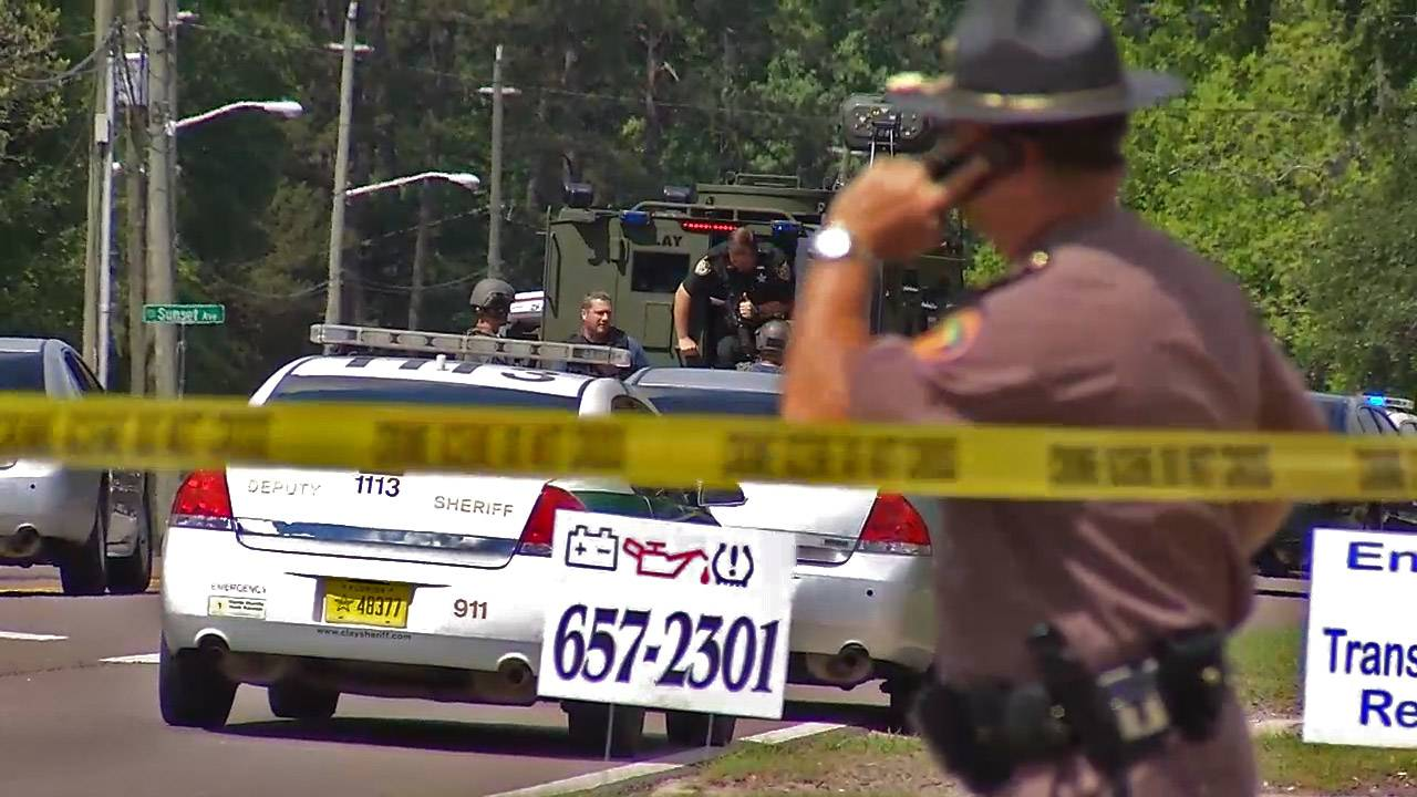 Green Cove Springs manhunt, FHP and SWAT