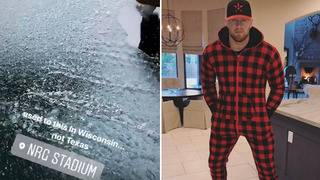 JJ Watt suits up for Houston snow, ice&#x3b; Texans star shares struggles of&hellip&#x3b;