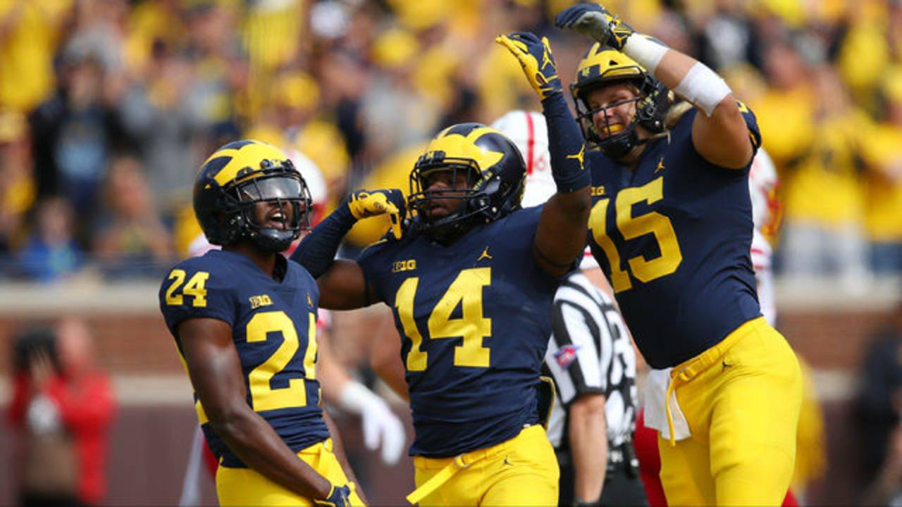 Lavert Hill Josh Metellus Chase Winovich Michigan football vs Nebraska