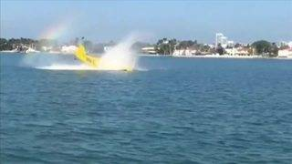 Small plane crashes into water off Miami Beach