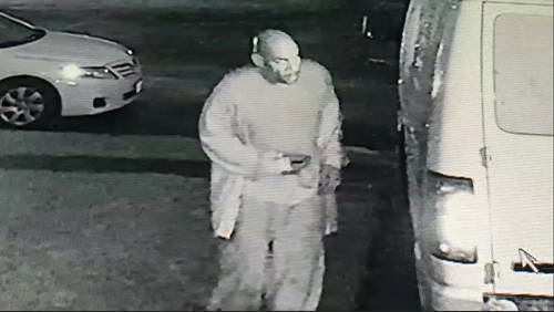 Thief caught on camera stealing tools, equipment worth $1,500