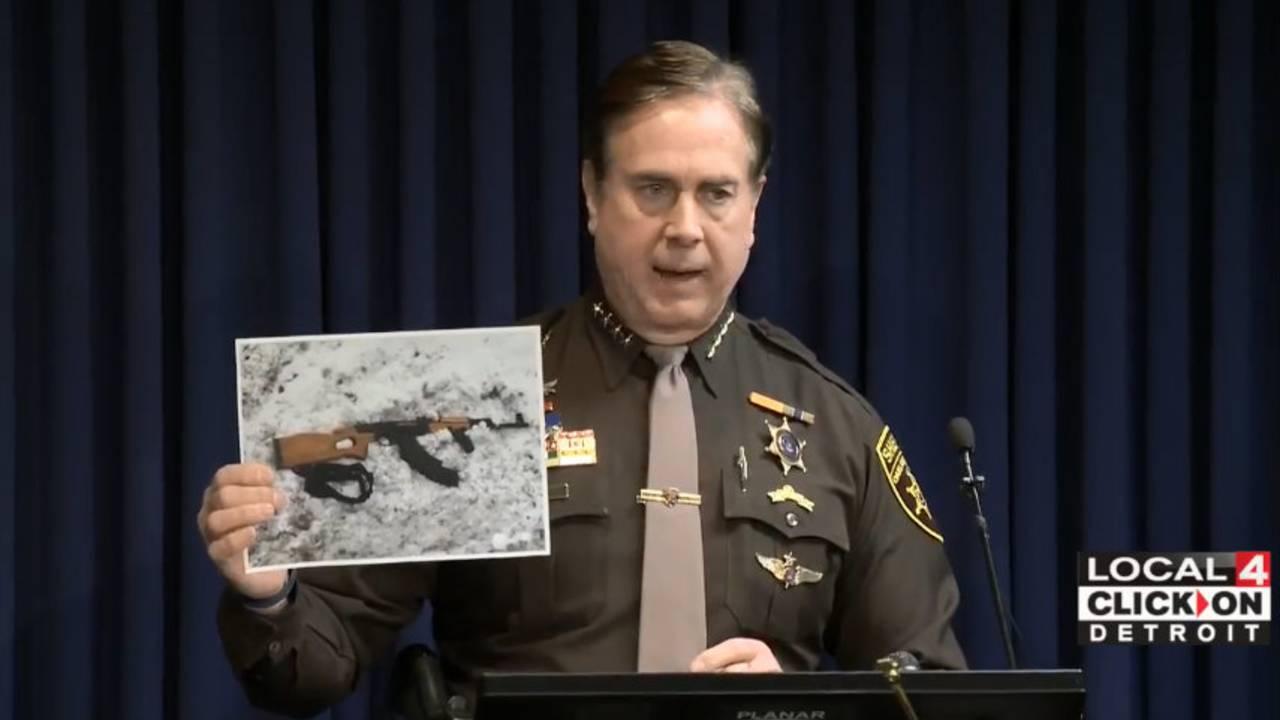 Assault rifle Taylor shooting suspect