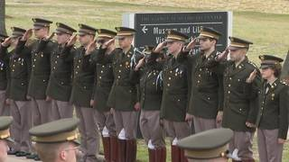 Texas A&M Corps of Cadets fulfill Barbara Bush's funeral request