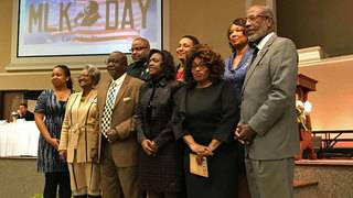 Corrine Brown visits supporters, sparks controversy at MLK Day event