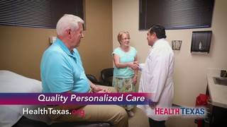 Receive excellent primary care at HealthTexas
