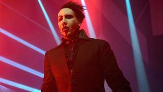 Marilyn Manson collapses while performing at concert in The Woodlands
