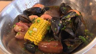 Break out of your shell at this downtown eatery