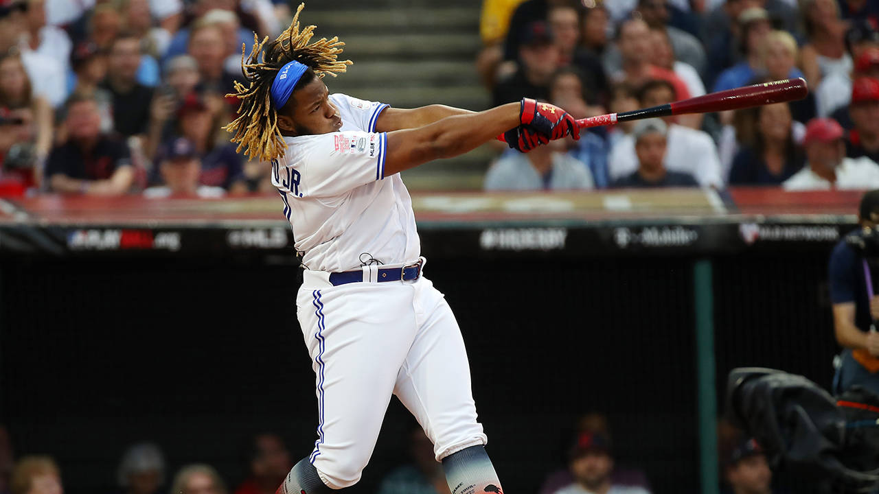 Vladimir Guerrero Jr. 2019 hr derby getty