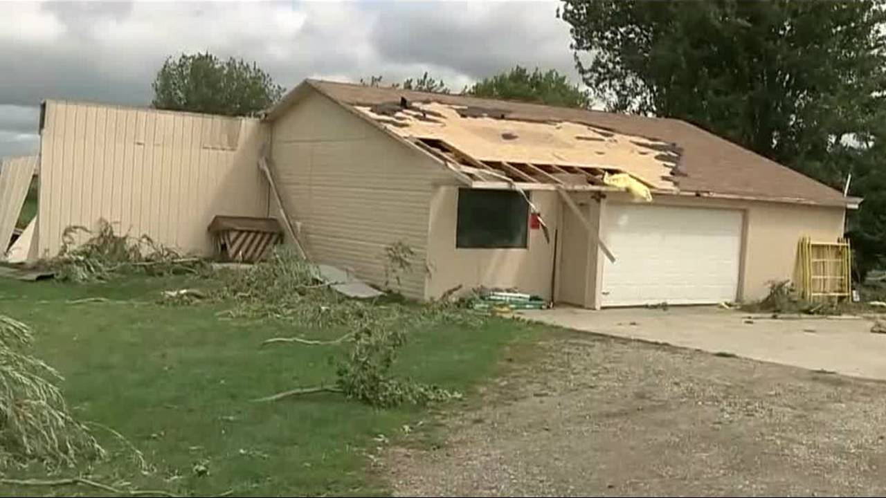 Tornado Touches Down Leaves Massive Trail Of Damage In