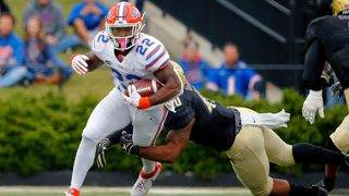 No. 14 Florida rallies from 18 down to beat Vanderbilt 37-27