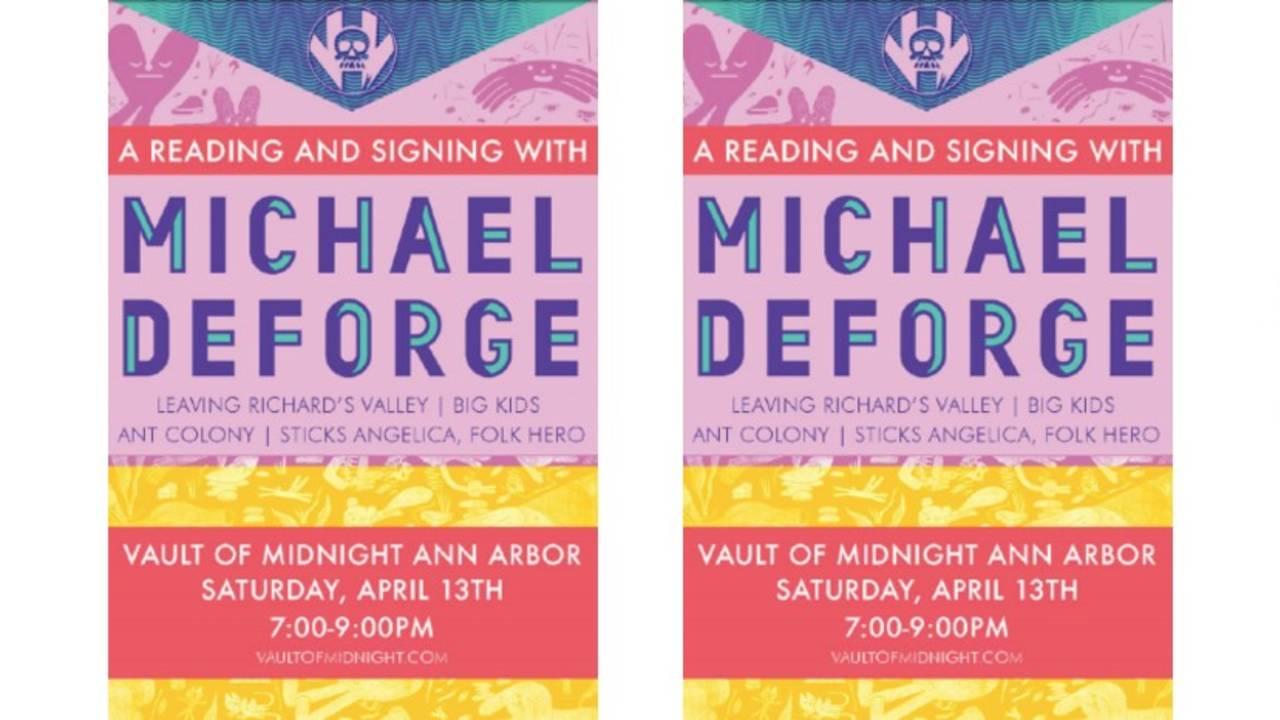 Vault of Midnight Michael DeForge