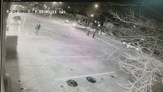 Surveillance video catches moments before collision that killed motorcyclist
