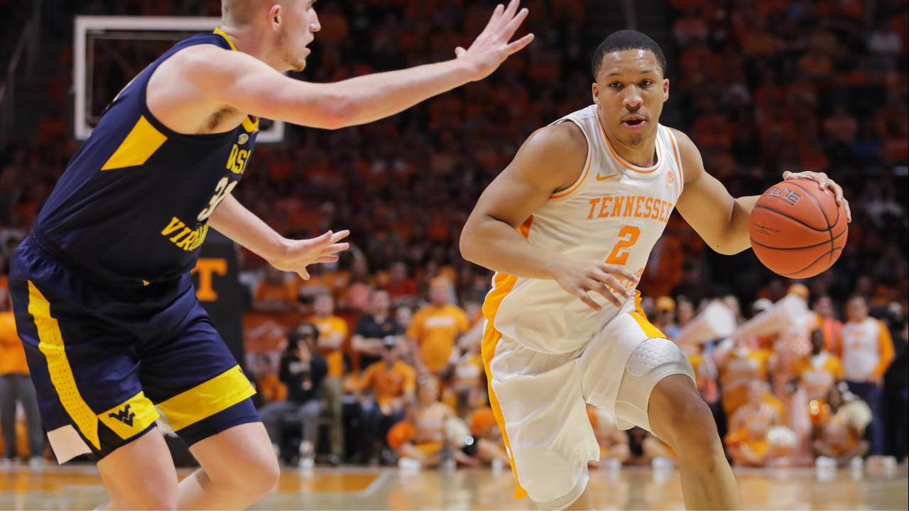 Grant Williams Tennessee basketball vs West Virginia 2019