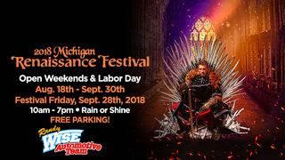 It's a Local 4 Free Friday! Michigan Renaissance Festival