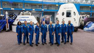 NASA announces new astronaut class