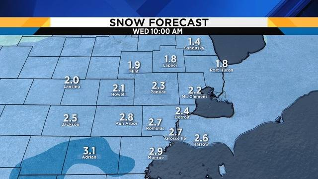 metro detroit weather forecast: next batch of snow is on the way