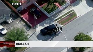 Officers investigate shooting in Hialeah