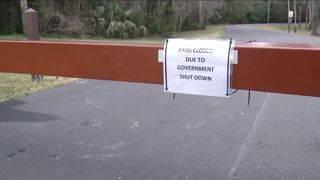Non-essential personnel sent home due to shutdown